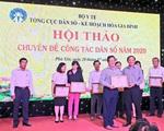 Hội thảo chuyên đề công tác dân số năm 2020 các tỉnh phía Nam