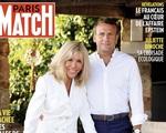 Diện mạo trẻ trung của vợ Tổng thống Pháp bên chồng trên bìa tạp chí bất ngờ gây sự chú ý