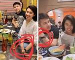 Tiếp tục lộ bằng chứng hẹn hò của Trương Thế Vinh và Thúy Ngân 'Gạo nếp gạo tẻ'