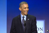 Tổng thống Obama lo chuyện sinh nở cho con gái ông bà Clinton