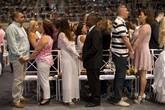 Cận cảnh lễ cưới tập thể gần 2.000 cặp đôi