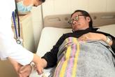 Trần Lực phải nhập viện khi đang quay show