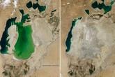 Hồ lớn thứ 4 thế giới bỗng biến mất đáng sợ