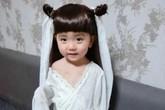 Bé gái cực đáng yêu với tạo hình Tiểu Long Nữ