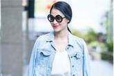Học sao Việt cách nâng tầm cho chiếc áo khoác denim