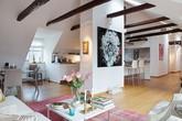 Ngắm 3 căn hộ áp mái đẹp hoàn hảo đến từng chi tiết