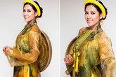 Nguyễn Thị Loan rạng ngời với áo tứ thân tại Miss World