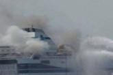 Cháy phà ở Hy Lạp: Đã cứu được 190 trong số 478 người