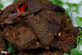 Bán thịt lợn khô 400.000 đồng/kg kiểu công khai nguồn gốc