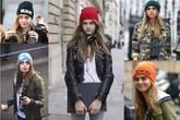 """Mũ len beanie """"khuấy động"""" làng thời trang những ngày mùa Đông"""