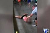 Phẫn nộ cảnh nữ sinh bị thầy giáo kéo lê trên sàn