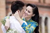 Diễm Hương hạnh phúc rạng ngời trong ảnh cưới