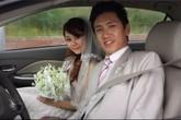 """""""Lộ"""" ảnh cưới trong quá khứ của chồng sắp cưới của Lê Thúy"""