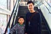 Bảo Nam bảnh bao đi mua sắm cùng bố Quang Dũng