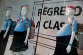 Sốc với thời trang đồ bầu cho học sinh