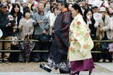 Chùm ảnh: Công chúa Noriko lấy chồng thường dân