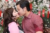 Vũ Hoàng Việt hôn say đắm người tình trong nhà hàng