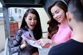 Hồ Ngọc Hà diện váy hồng tuyệt đẹp dạy Quế Vân học hát