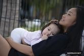 Đoan Trang bình yên bên con gái yêu