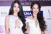 Sao Việt ngày càng táo bạo với mốt khoe khe ngực