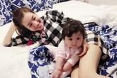 Elly Trần khoe ảnh con gái Mộc Trà đáng yêu ở trời Tây