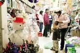 Hàng Giáng sinh ngập phố Hà thành