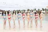 Thí sinh Hoa hậu VN  mặc bikini, đọ dáng ở nhà công tử Bạc Liêu