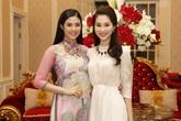 Ngọc Hân – Thu Thảo hội ngộ ở đêm chung khảo Hoa hậu Việt Nam