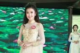 Ngắm thí sinh Hoa hậu Việt Nam mặc áo dài tuyệt đẹp