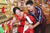 Cận cảnh sao Việt rạng rỡ đón Noel