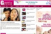 """Website """"nhái"""" trang thông tin điện tử của Báo Gia đình & Xã hội: Mập mờ gây hiểu nhầm, vi phạm luật"""