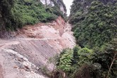 Thanh tra vụ phá núi làm đường ở vùng đệm Vịnh Hạ Long