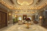 """Đo độ """"khủng"""" của những biệt thự được dát vàng ở Hà Nội"""
