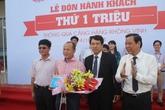 Sân bay Vinh đón hành khách thứ 1 triệu