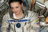 Ngắm nữ phi hành gia Nga xinh đẹp lần đầu bay vào vũ trụ