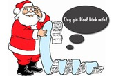 Ngộ nghĩnh những bức thư bé gửi ông già Noel