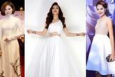 Thời trang sao Việt tuần qua: Đầm trắng ấn tượng tại tuần lễ thời trang quốc tế