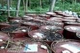 Vụ chôn thuốc trừ sâu ở Thanh Hóa: Chuyển hàng trăm tấn chất thải ra Bắc để xử lý