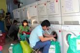 Dịch vụ cho thuê máy giặt quần áo nở rộ ở Sài Gòn