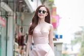 Angela Phương Trinh quyến rũ với váy cúp ngực
