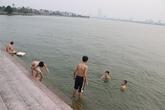 Đi tắm hồ, 4 học sinh chết đuối thương tâm