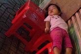 Câu chuyện về bé gái ngủ vỉa hè, không được đi học