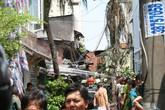 Cháy dữ dội ở trung tâm Sài Gòn