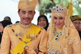 Cận cảnh đám cưới xa hoa, tráng lệ của Hoàng tử Brunei