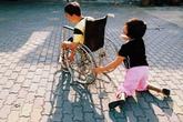 Bài học cuộc sống từ chàng trai khuyết tật