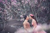 Ảnh cưới lãng mạn của Huỳnh Đông - Ái Châu
