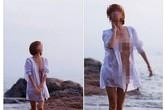"""Cô gái chụp """"ảnh nóng"""" ở bãi biển Đồ Sơn bị chỉ trích gay gắt"""
