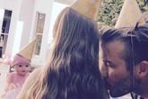 Becks hé lộ tiệc sinh nhật của công chúa Harper