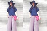 Mỹ nhân Việt phong cách với quần culottes