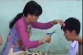 Câu chuyện đẹp đằng sau clip cô giáo cắt tóc học sinh trên bục giảng